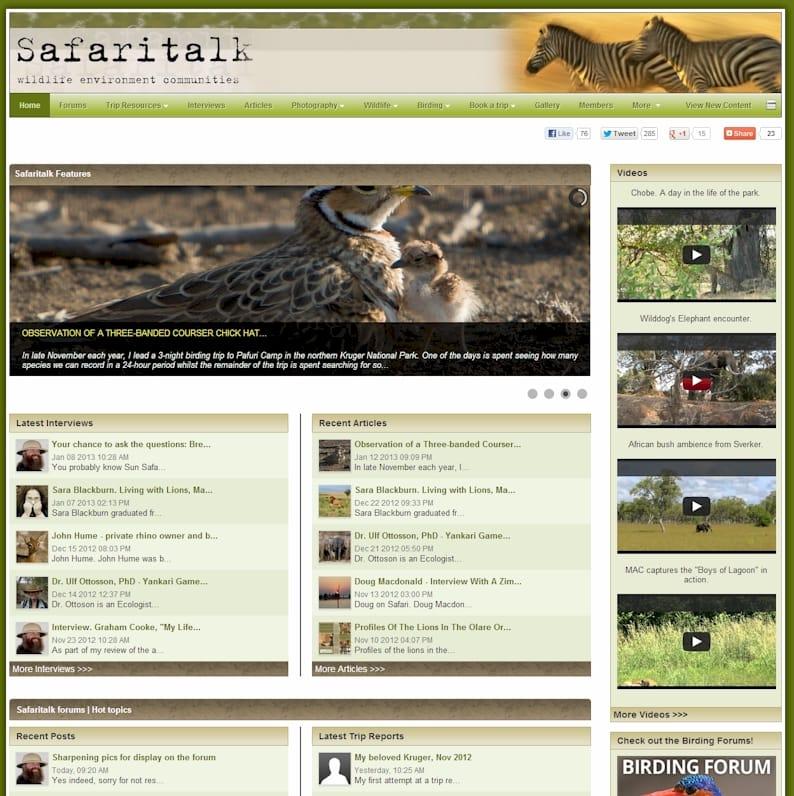 safari talk