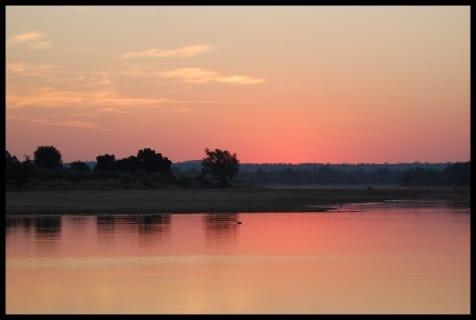 gonarezhou sunset
