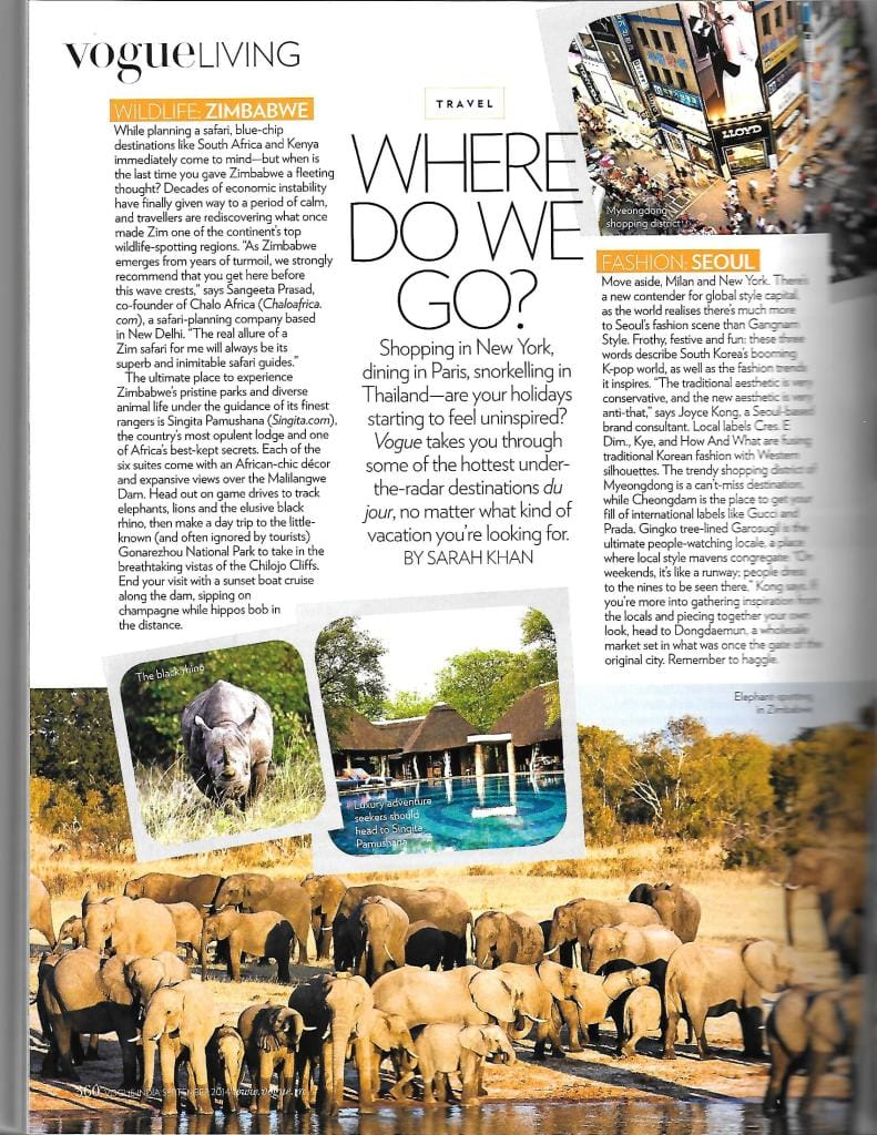 chalo africa featured in vogue magazine