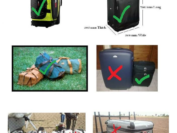 African safari luggage suitcase recommendations