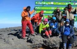 Uhuru Peak Summit