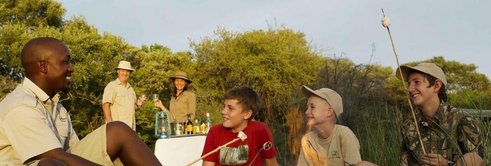 Botswana Family Safari - Young Explorers Program