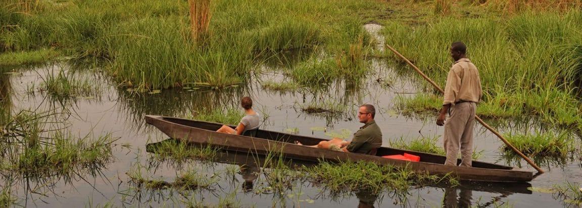 Mokoro Ride near Chobe National Park, Botswana