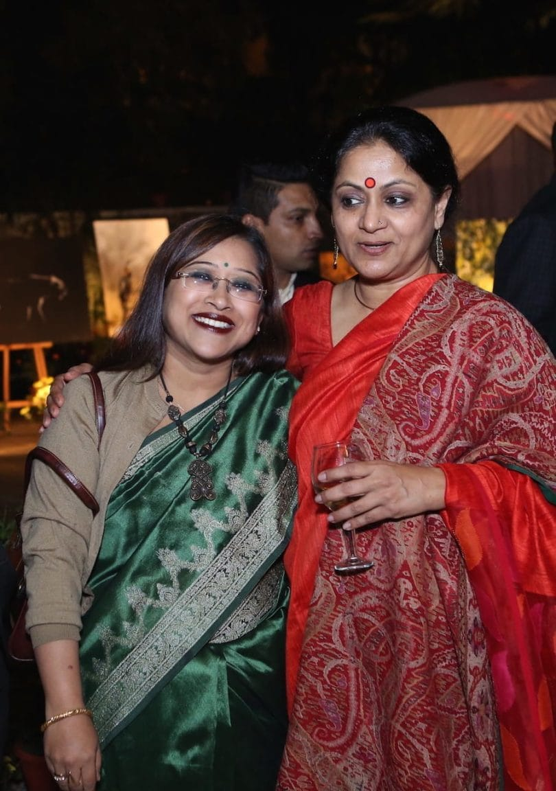 Ms. Tapasi De (Editor-in-Chief, The Times of Africa), with Smita Srivastava