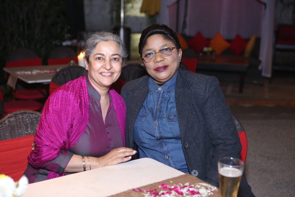 Ms. Ishpinder Kochhar, Owner I K Silver, and Ms. Zozo Binto, Counsellor of Democratic Republic of Congo