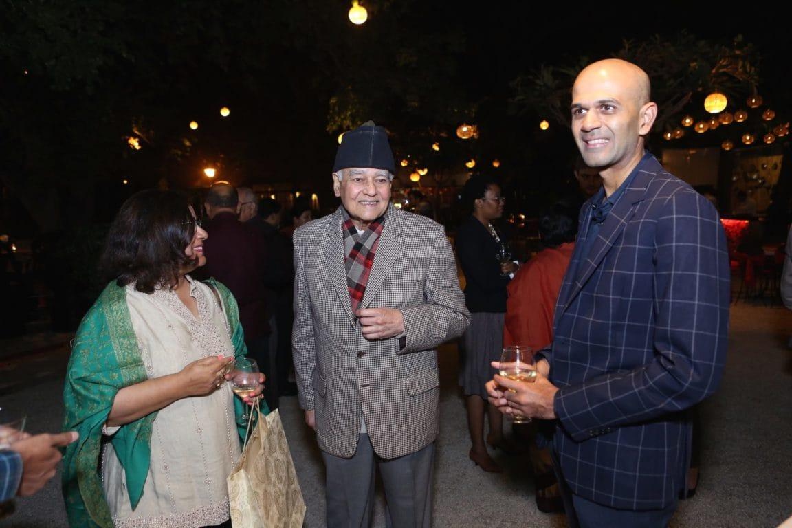 Sangeeta S. Prasad (Chalo Africa), S.K. Sinha, & Hari Santharam (Photographer)