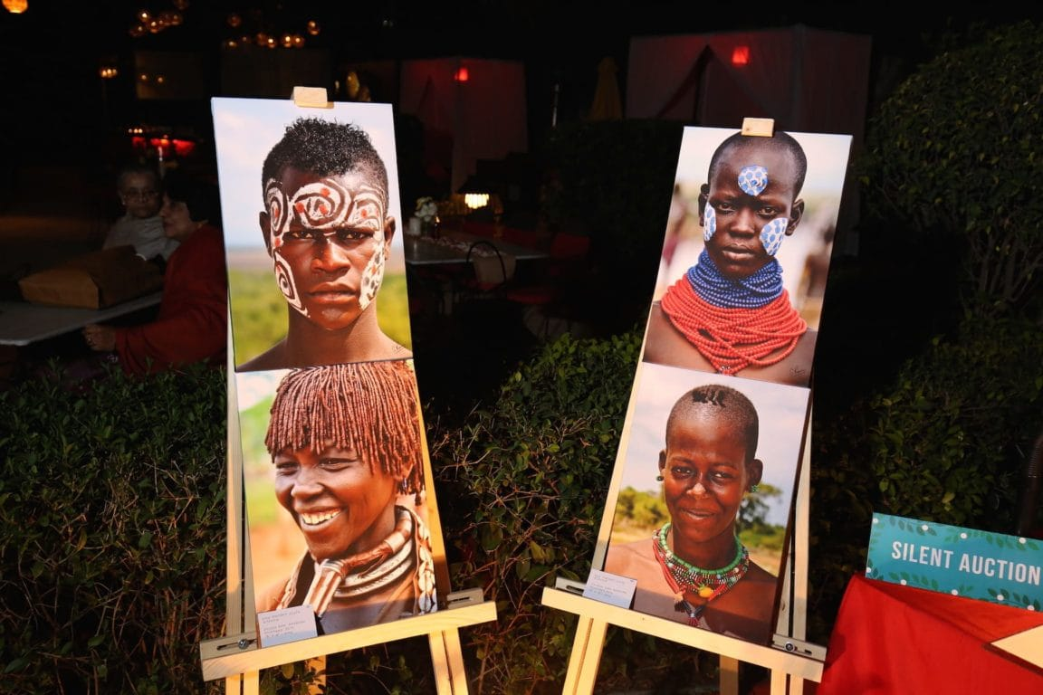 The canvasses that were auctioned