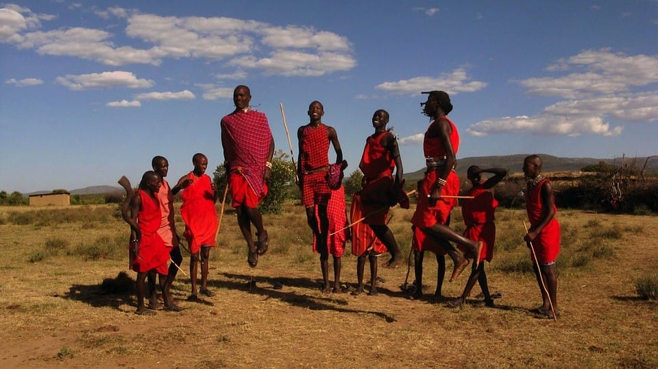 maasai tribal members. Image by Brutere.