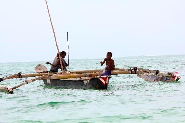 Fishing near Matemwe Beach