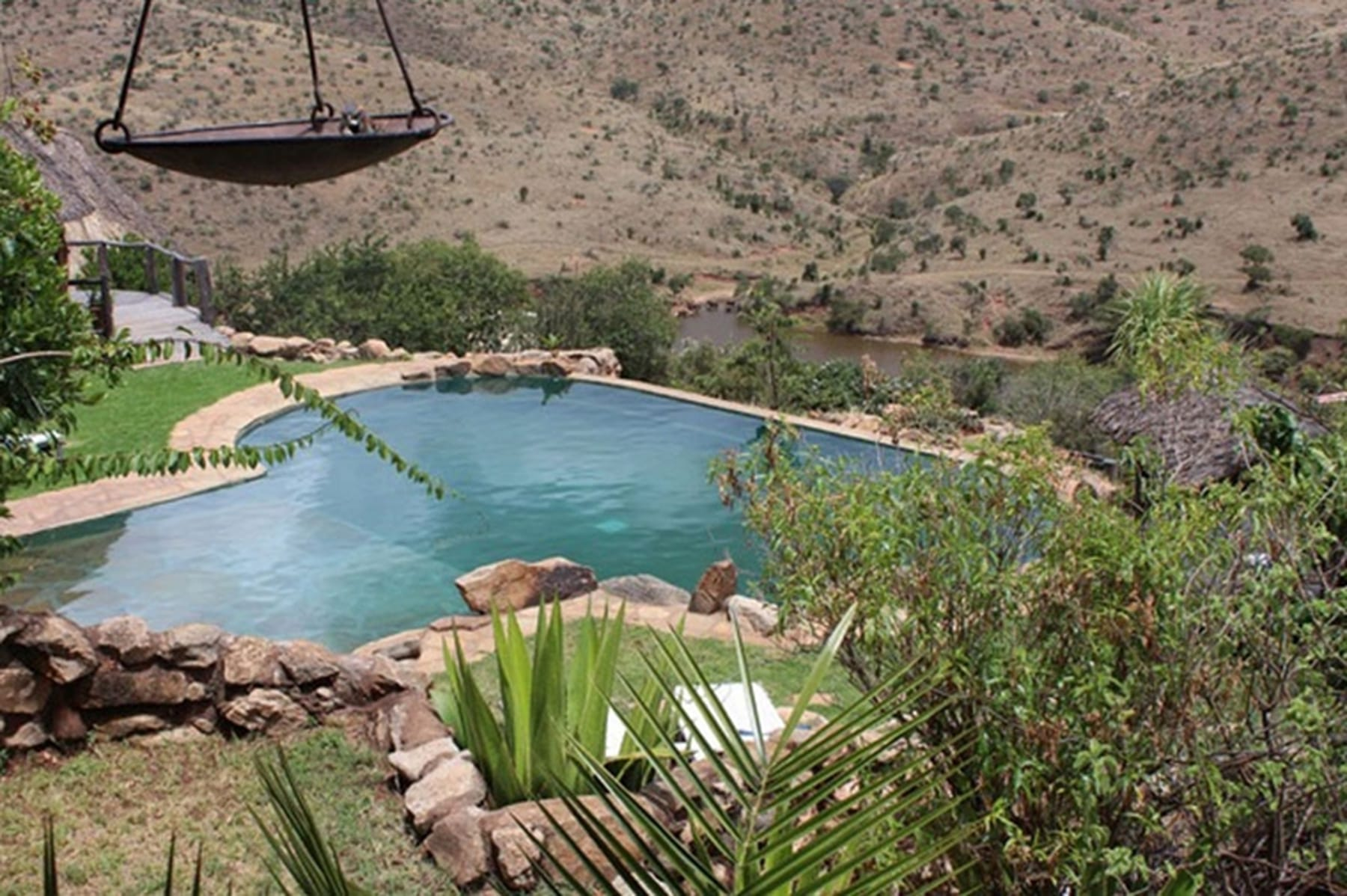 Borana Lodge pool