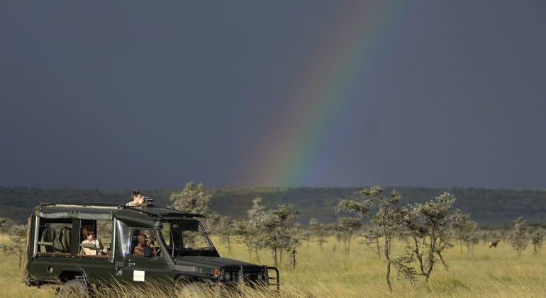 Kicheche Bush Camp vehicle