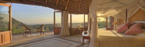 Lewa Wilderness rooms interior