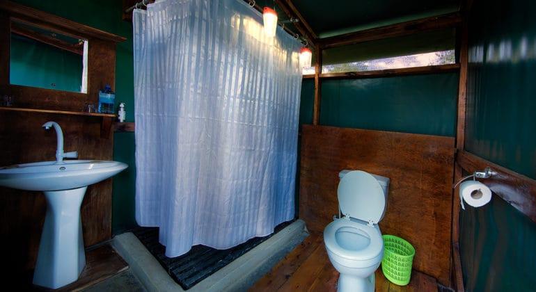 Ol Kinyei Adventure Camp Bathrooms