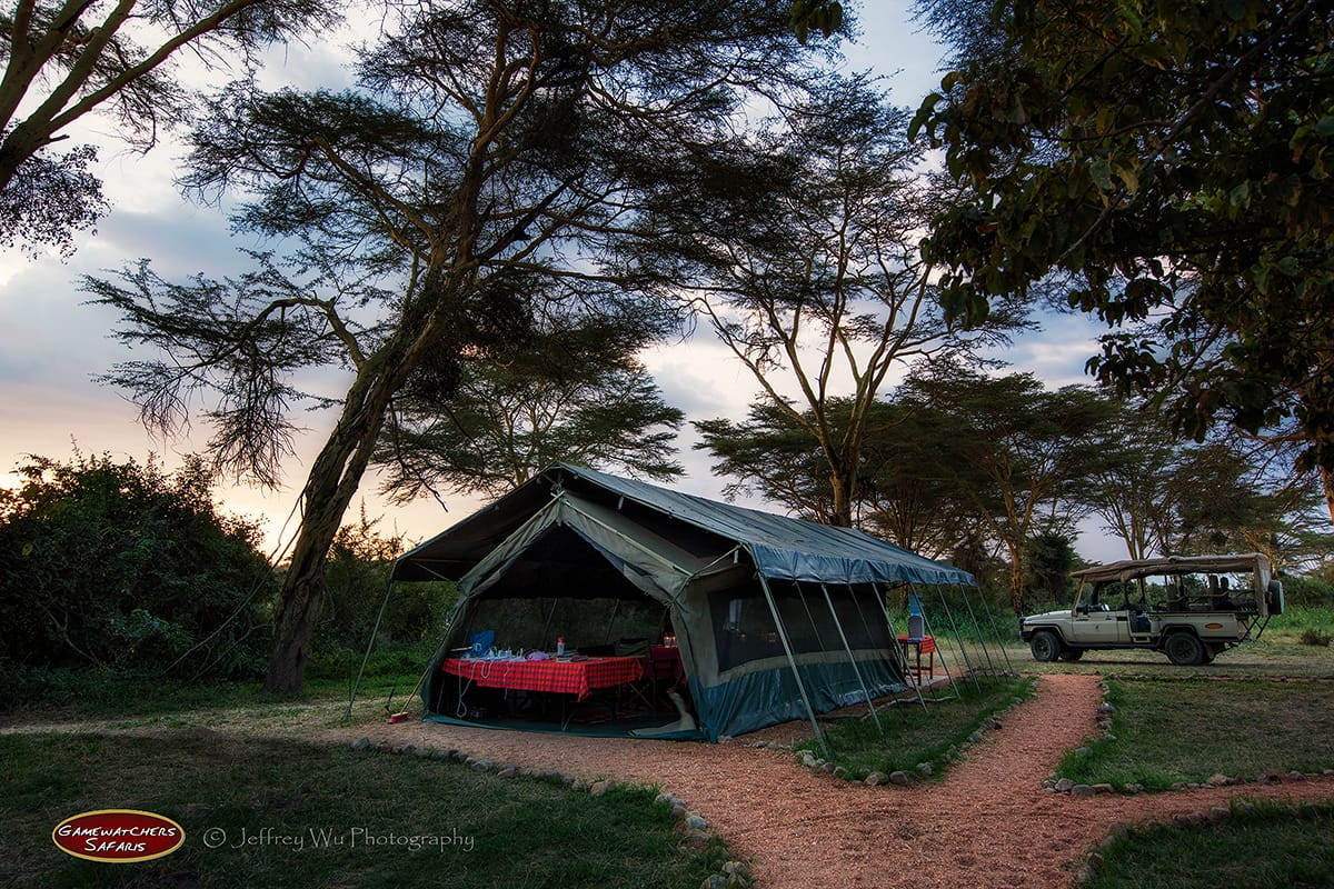 Ol Kinyei Adventure Camp Mess Tent