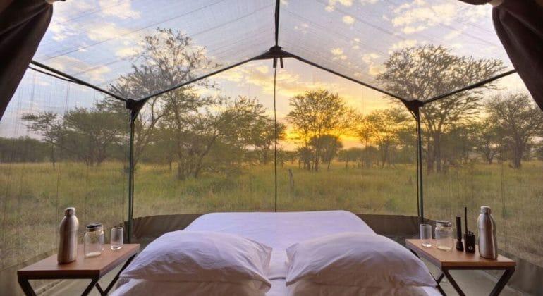 Olakira Camp Stargazing Tent