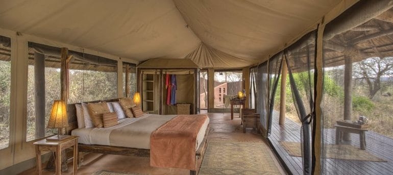 Olivers Camp Guest Tent