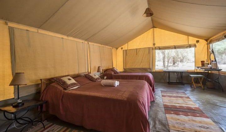 Porini Amboseli Camp - Guest tent