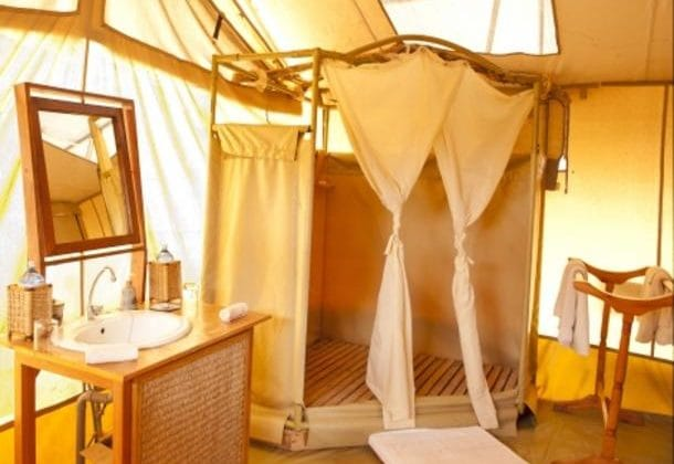 Porini Amboseli Camp bathroom