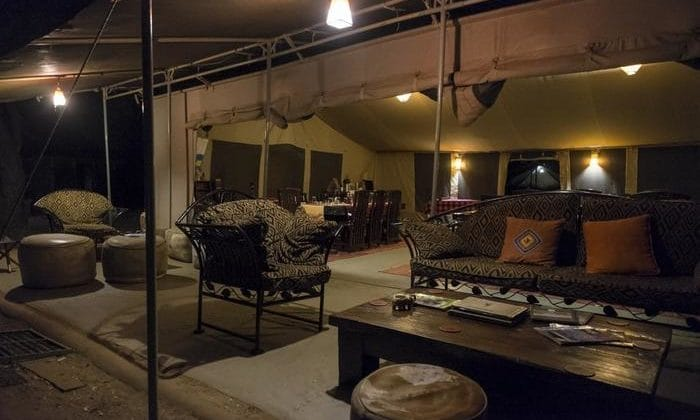 Porini Amboseli Camp - lounge