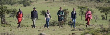 Porini Lion Camp - Maasai walks