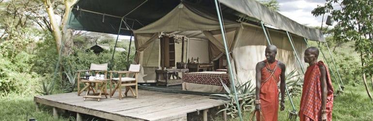 Porini Mara Camp - Exterior
