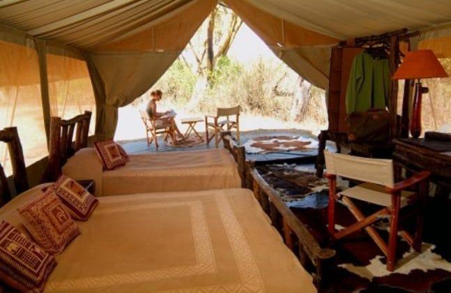 Porini Mara Camp - Guest Tent