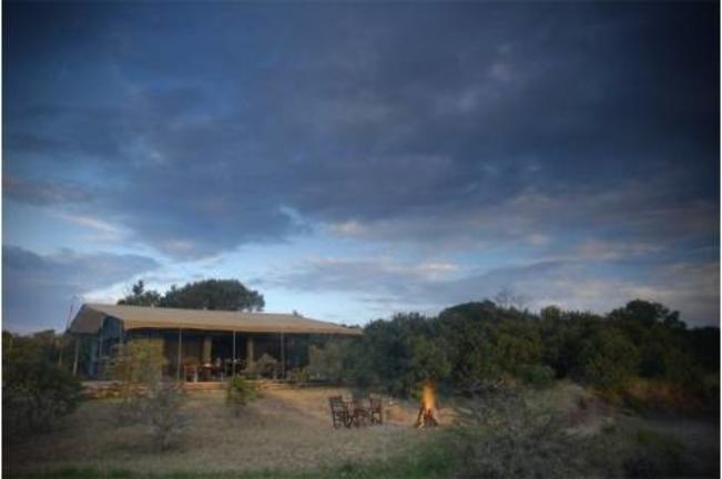 Porini Rhino Camp - campfire