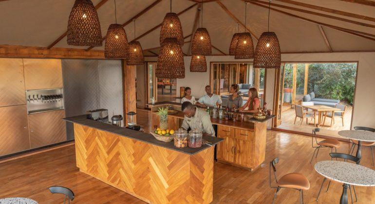 Sayari Camp Bar Area