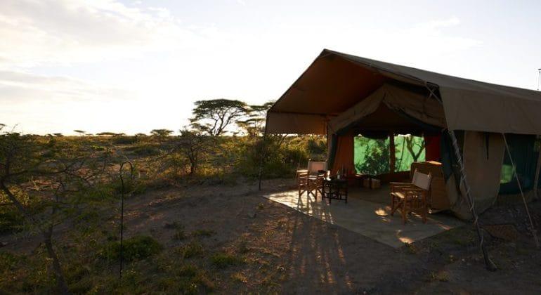 Ubuntu Camp guest tent