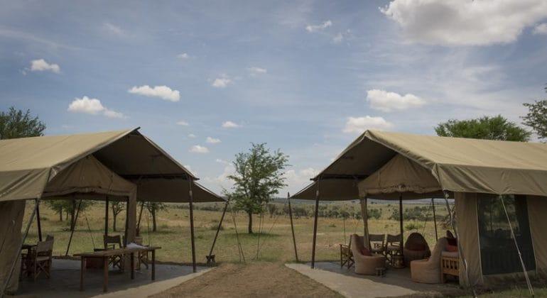 Ubuntu Camp lounge