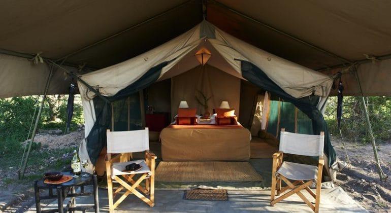 Ubuntu Migration camp tent