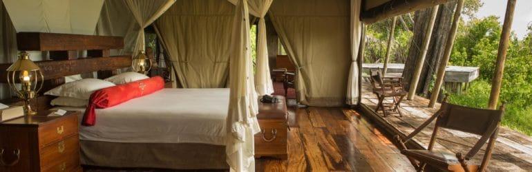 Zarafa Camp interiors