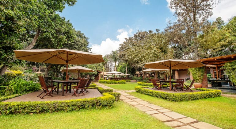 Arusha Coffee Lodge Garden
