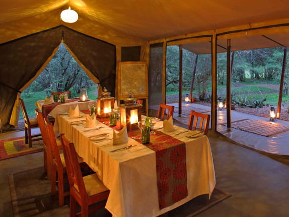 Encounter Mara Dining Area