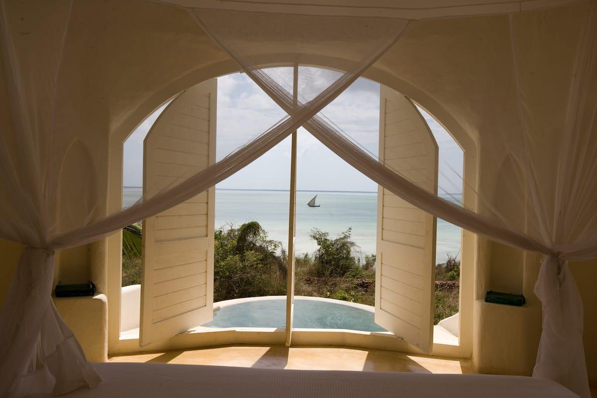 Kilindi Bedroom Window View