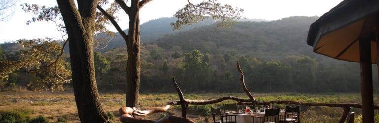 Kitich Camp Breakfast Veranda