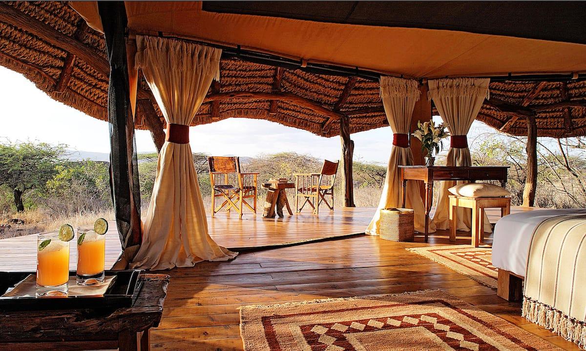 Lewa Safari Camp Tent
