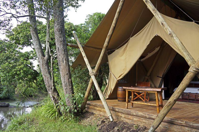 Mara Expedition Camp View