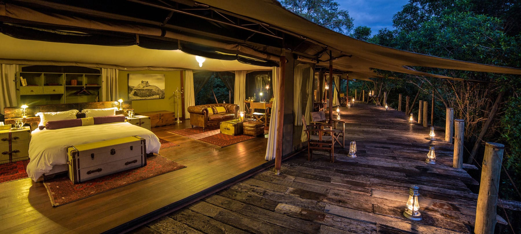 Mara Plains Camp View