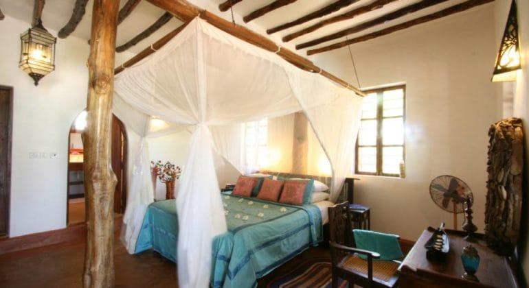 Matemwe Beach House Bed