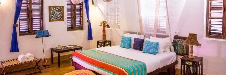 Matemwe Beach House Bedroom