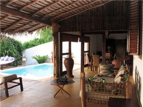 Matemwe Beach House Pool