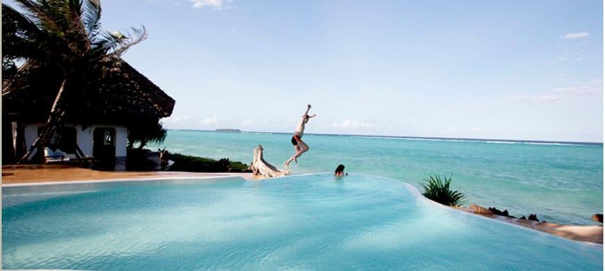 Matemwe Lodge Swimming Pool