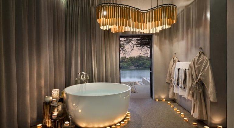 Matetsi Game Reserve Bathroom