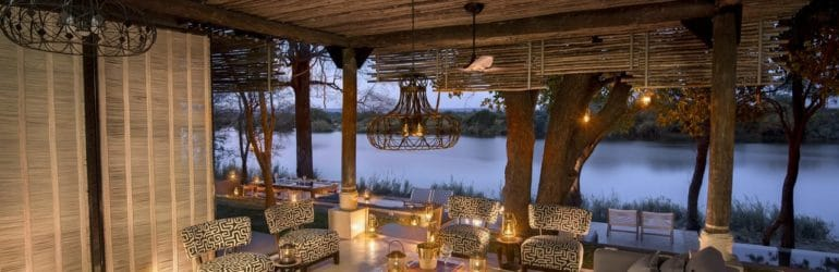 Matetsi River House Lounge