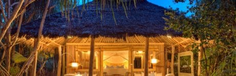 Mnemba Island Resort Front View