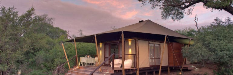 Ngala Tented Camp Tent View