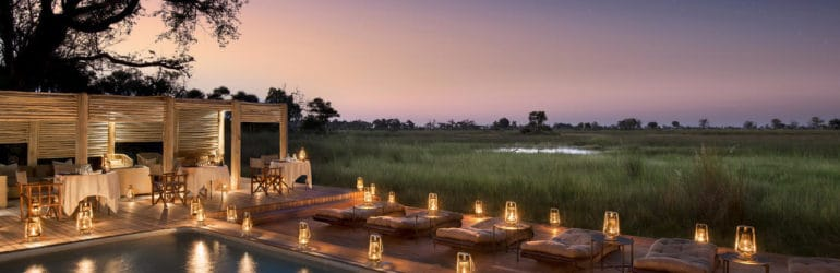 Nxabega Okavango Tented Camp Pool
