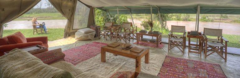 Ol Pejeta Bush Camp Inside Tent