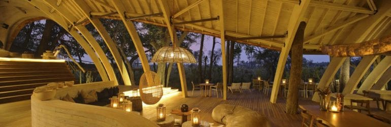 Sandibe Okavango Safari Lodge Dining